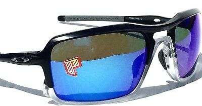 18be1aee42 NEW  Oakley TRIGGERMAN Black POLARIZED Sapphire Iridium Lens Sunglass oo9266 -04