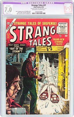 Strange Tales #37 (Atlas, 1955) CGC Apparent FN/VF 7.0 Slight (C-1)