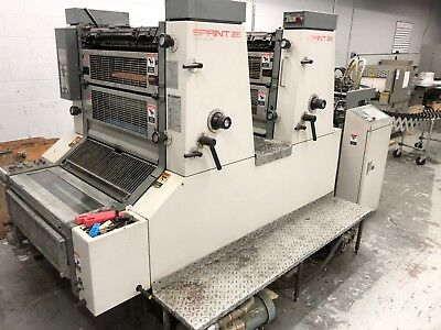 1990 Komori Sprint (S226P) 226 2 Color with perfecter