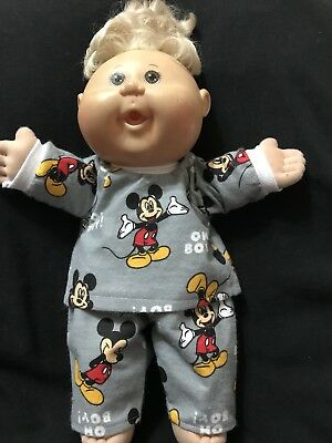 dolls clothes made to fit 42cm Cabbage Patch Dolls (size Med). Pyjamas