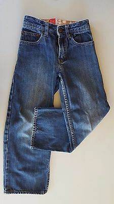 GAP Kids Jeans Adjustable waist Size 7 Unisex Denim