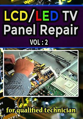 LCD/LED TV Panel Repair Book pdf Part 2 E-mail Fast delivery