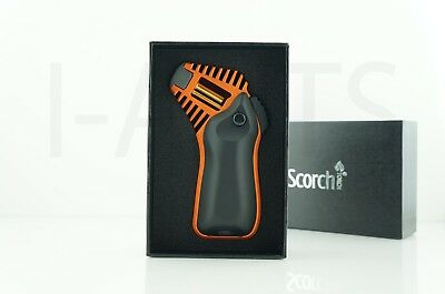 Scorch X-SERIES Refillable Adjustable Flame Jet Torch Lighter With Gift Box