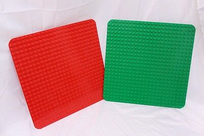 """LEGO Duplo Large Base Board Green Plate 15/"""" x 15/"""" 24 x 24 Pegs Studs"""