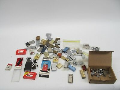 Lot - Dozens Of Reusable Lighters For Parts And Repair