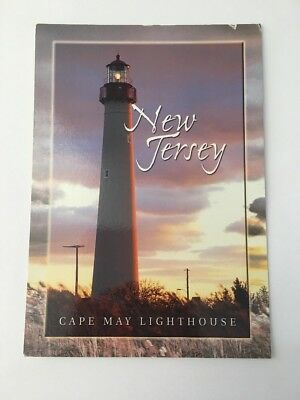 New Jersey Cap May Lighthouse New Jersey Donald T Kelly 2002 Postcard