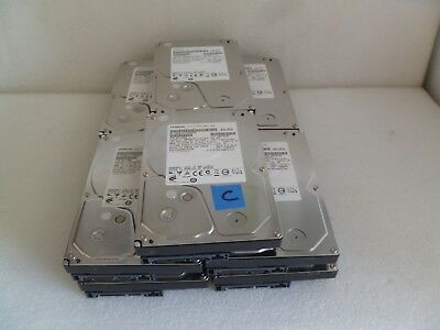 Lot Of 10 Mix Model Hitachi 500Gb Sata Desktop Hard Drive (C)