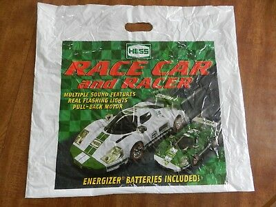 2009 Hess Race Car and Racer Bag