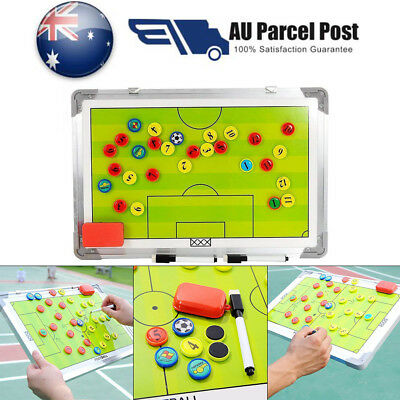 Tactical Set Board Coaching Soccer Magnetic Tactic LARGE Football Training Board