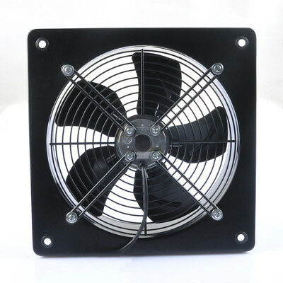 """Commercial Industrial Extractor Fan 300mm 12"""" Metal Plate Kitchen 2600 rpm"""
