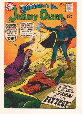 Superman's Pal Jimmy Olsen #115 in Very Fine + condition. DC comics