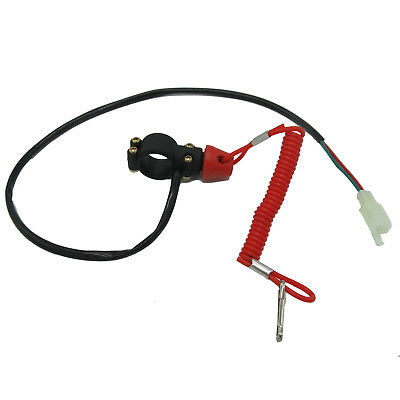 Boat Motor Kill Stop Switch /& Safety Tether Lanyard For Quad Pit ATV Dirt VG