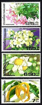 1982 THAILAND FLOWERS SG1101-1104 mint unhinged