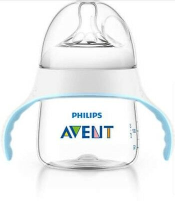 Philips Avent My Natural Trainer Clear Transition Sippy Cup 5 Oz