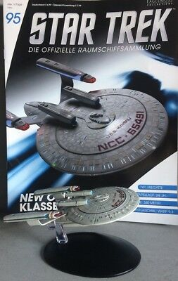 STAR TREK Official Starships Magazine #95 New Orleans Class Ship Eaglemoss deuts