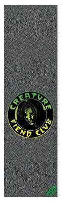"Mob Skateboard Grip Tape Sheet - 9"" x 33"" - Creature Fiend Club - Perforated"