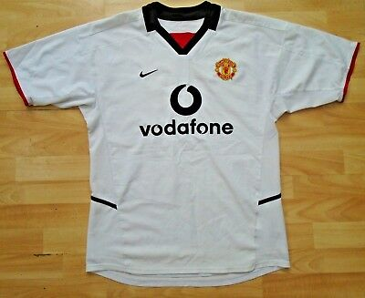 055f5a72a Manchester United 2002 Away Nike Football Soccer Shirt Jersey Top Medium  Adult