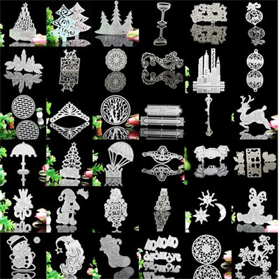 42Styles Stencil Cutting Dies DIY Scrapbook Embossing Template Xmas Gift Craft
