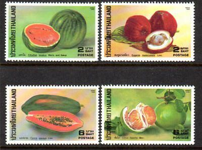 1986 THAILAND FRUIT SG1244-1247 mint unhinged