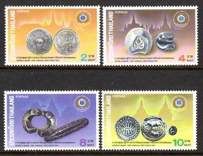 1991 THAILAND WORLD BANK IMF MEETINGS SG1533-1536 mint unhinged
