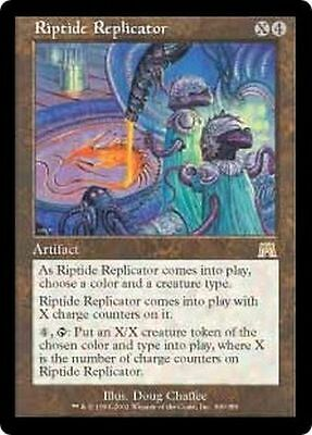 Mtg Magic The Gathering - Riptide Replicator - Onslaught Excellent!