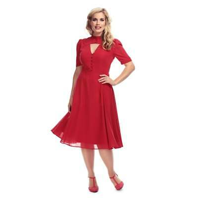Collectif Vintage Shirley Swing Dress