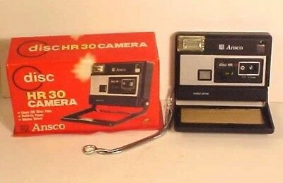 Ansco HR 30 Disc Film Camera in Original Box