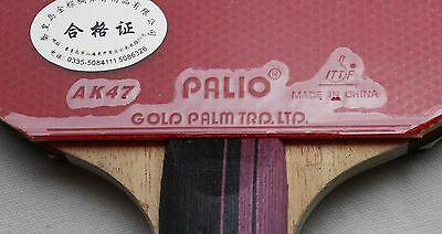 Palio 3Star Carbon Table Tennis Bat w/Case, Melbourne,