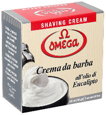 Omega Shaving Cream 2 x Tubs 150 gm each