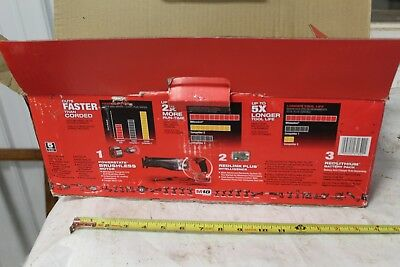 Milwaukee M 18 sawzall  2720-20 fuel  tool only fuel   2