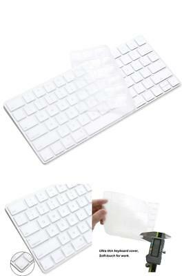 Ultra Thin Silicone Keyboard Protector Cover Skin for Apple iMac Magic Wireless