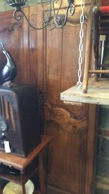 Beautiful Antique Wood Carved Doors (72 inches tall, 52 inches wide)