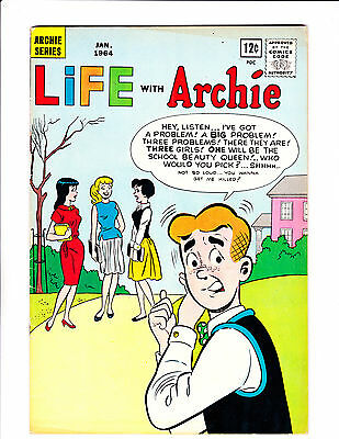 """Life With Archie  No.25    : 1964 :     : """"Fashion Frenzies"""" :"""