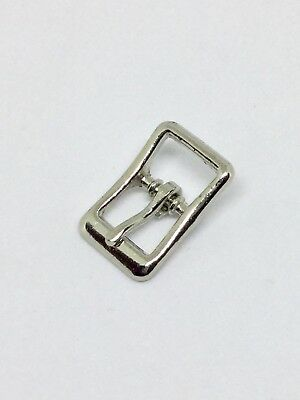 Strap Buckle Nickel Plated 3 4 Leathercraft Decorative Accent Tandy 153900