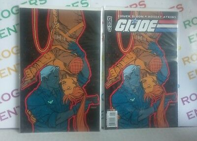 IDW G.I. Joe Comic Books Issue 6 - 2 Variant Covers A & R1 Carded/Mint