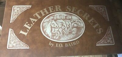 Leather Secrets by F.O. Baird, Leather-Bound 1976 ISBN 9780918280015 Patterns