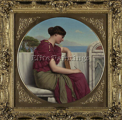 Godward John William The Answer Artist Painting Reproduction Handmade Oil Canvas