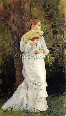 Homer Winslow The Trysting Place Artist Painting Oil Canvas Repro Wall Art Deco
