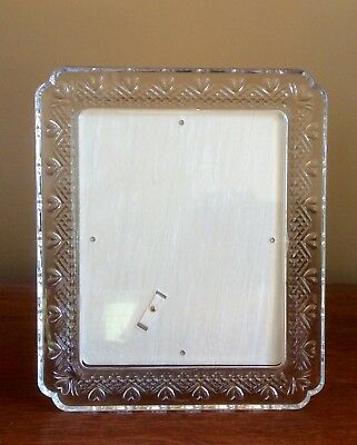 WATERFORD CRYSTAL WEDDING 5 X 7 Photo Picture Frame - NEW! - $124.95 ...