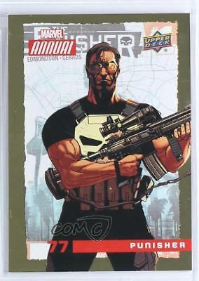 2016 Upper Deck Marvel Annual Gold #77 Punisher Non-Sports Card 1md