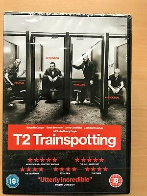 Ewan McGregor T2 Trainspotting 2 2017 Irvine Welsh Scottish Classic UK DVD BNIB
