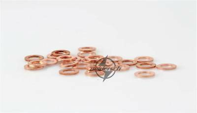 Thick 2mm Multiple Sealing Ring Spacer Copper Flat Gaskets Crush Washer For Boat