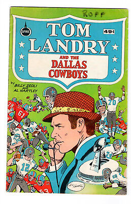 "1973--""tom Landry And The Dallas Cowboys""--Spire Comics--Vf"