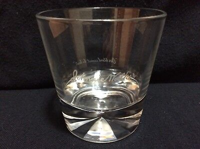 Pre-Owned 1 Johnnie Walker Diamond Base Rock Low Ball Glass