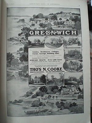 Thomas N. Cooke 1910 GREENWICH CT Real Estate ad FULL PAGE