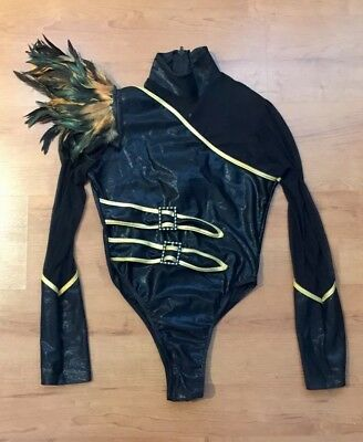 Festival / Dance / Latin / Samba / Burlesque Costume Leotard Women's 12-14