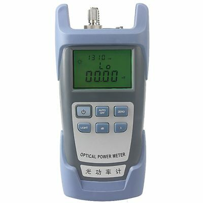 Fiber Optic Optical Power Meter Cable Tester Networks FC/SC connector -70~+10dBm