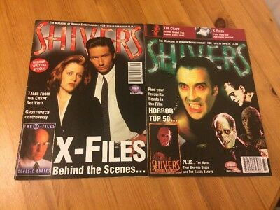 Shivers Magazines 1990s Issue 29 & 33