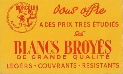 Buvard 115865 Norcolor Blancs Broyes Peintures-80