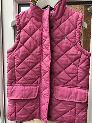 Joules Girls Quilted Gilet Age 8